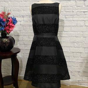 Just... Taylor Black Cocktail Dress Size 8